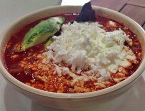 Sopa de tortilla o sopa azteca receta original