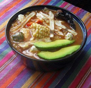 sopa de tortilla origen