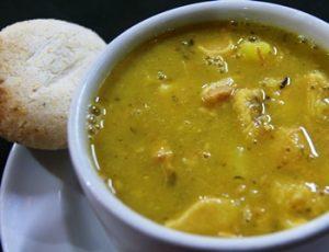 sopa de tortilla antioqueña