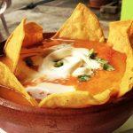 Sopa de tortilla salvadoreña
